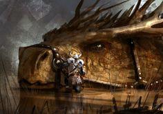 Dragon Rider by Romain Flamand Mythical Creatures Art, Magical Creatures, Fantasy Creatures, Cool Dragons, Fantasy Beasts, Dragon Artwork, Dragon Rider, Dragon Design, Fantasy Warrior