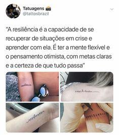 Resiliência é a meta