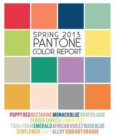 the designer details - Blog - Spring 2013 ColorTrends