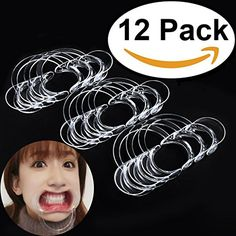 """Dental Mouth Opener(12pcs)(S Size), Aestheticism Dental Tools Dental C-Shape Intraoral Cheek Lip Retractor Mouth Opener for Kids Mouth Opener Game (96x70x20mm) $9.85 Dear valued customers """"Aestheticism living museum"""" is the only """"Aestheticism"""" brand authorized shops. All products undergo strict QC, for your health and enjoy the use of guaranteed after-sales service. Please do not buy fake products from unauthorized stores, thank you! Aestheticism life Museum's mouth opener is transparent…"""