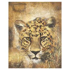I pinned this Safari Leopard Wall Art from the Safari Chic event at Joss and Main!