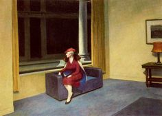 Edward Hopper - Hotel Window (1955)