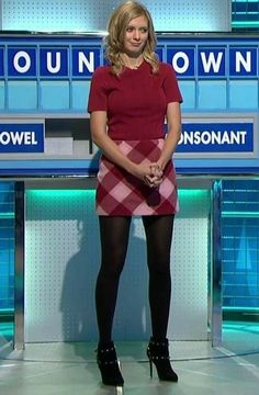 + 100 Photos Rachel Riley looks gorgeous in Lingerie Fashion Tights, Tights Outfit, Fashion Fashion, Pantyhose Outfits, In Pantyhose, Rachel Riley Countdown, Sexy Older Women, Sexy Women, Rachel Riley Legs