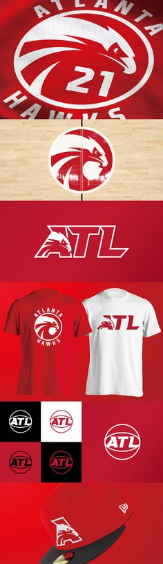 Atlanta Hawks logo concept by Yu Masuda - Tap the link to shop on our official online store! You can also join our affiliate and/or rewards programs for FREE! Sports Bra Outfit, Sport Outfits, Identity Design, Logo Design, Hawk Logo, Logo Luxury, Sports Brands, Sports Logos, Georgia