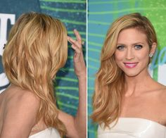 How to get Brittany Snow's glowing skin & makeup at the CMTs.
