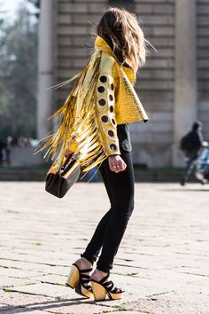 Why You Should Wear Sneakers With Your Party Dress Tonight