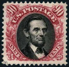 U.S.; General Issues, 1875, 90c Carmine & Black, Re-Issue, #132. O.g., lovely example, Very Fine, PF (1969, 2013) certs. Scott $3,750., 1356...