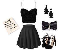 """""""Untitled #36"""" by fejsa ❤ liked on Polyvore featuring Jimmy Choo and Oscar de la Renta"""
