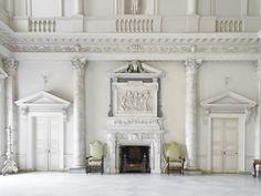 Inside English Manor Clandon Park's Restoration