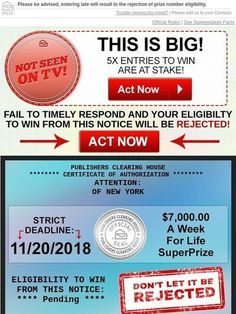 Pch Win It All Sweepstakes Lotto Winning Numbers, Lotto Numbers, Instant Win Sweepstakes, Online Sweepstakes, Pch Dream Home, Newsletter Names, Catchy Slogans, Win For Life, Couponing 101