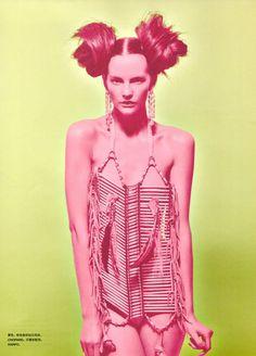 Sara Blomqvist | Tiziano Magni | Numero China #20 Aug 2012 | 'MyBody' - 3 Sensual Fashion Editorials | Art Exhibits - Anne of Carversville Women's News