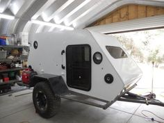 Skersfan's New Shuttle Pod Trailer Build... - Expedition Portal