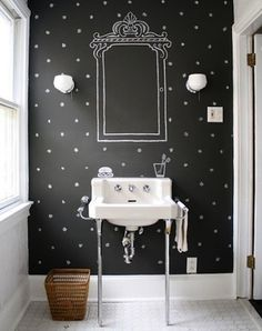 Personalize your mugs, label your storage, and throw creativity up on a wall with these clever uses for the DIYer's favorite and most customizable weapon: chalkboard paint.