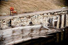 Antique Chair Overlooking River  Fine Art by austynelizabeth, $50.00
