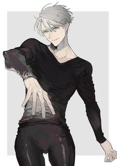 Yuri!!! on Ice - Victor Nikiforov  by 野崎つばた on pixiv (id: 1773916)