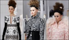 Haute Couture Week: Hairstyles Trends 2017 | Chanel curly updos
