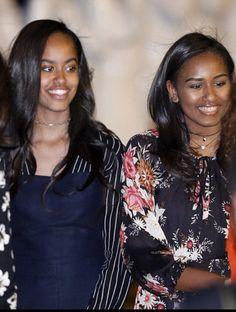 #FirstDaughters Of The United States #MaliaObama #SashaObama