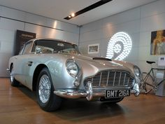 Classic Car News – Classic Car News Pics And Videos From Around The World Bond Cars, Aston Martin Cars, Vintage Race Car, Manual Transmission, James Bond, Antique Cars, Classic Cars, Sean Connery, Chic Bathrooms