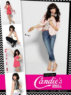 Carly Rae Jepsen: Model & Photographer For New Candie's Campaign - Celebrity Teen Scoop Carly Rae Jepsen, Valley Girls, Girl Fashion, Fashion Outfits, Model Photographers, Celebs, Celebrities, Pants Outfit, Celebrity Crush