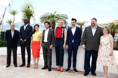 Kit Harington Photos Photos - (L-R) Director Jeffrey Katzenberg, actors Djimon Hounsou, America Ferrera, Kit Harington, Cate Blanchett, Jay Baruchel, director Dean DeBlois and producer Bonnie Arnold attend the 'How To Train Your Dragon 2' photocall during the 67th Annual Cannes Film Festival on May 16, 2014 in Cannes, France. - 'How to Train Your Dragon 2' Photo Call