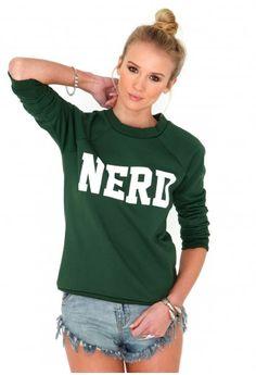 Lolita 'Nerd' Sweatshirt - tops - hoodies- missguided