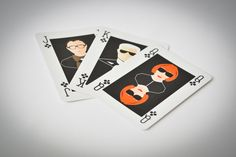 Playing Cards featuring Pop Culture Icons