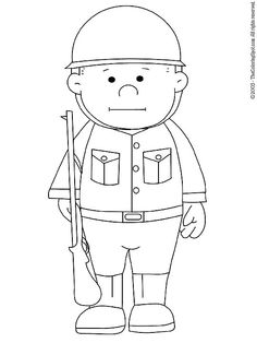 printable coloring soliders | Soldier | Free printable coloring pages for kids | Coloring pictures ...