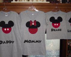 Family Mickey Mouse Birthday Shirts Etsy   Grosir Baju Surabaya