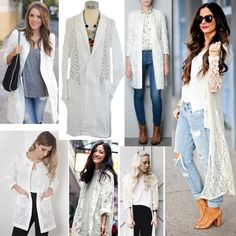 Magnificent items for #SS16 #NicciSummer16 #lace #jacket