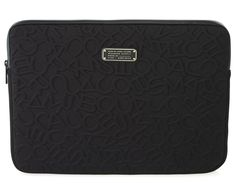 "Marc by Marc Jacobs Scrambled Logo Neoprene 15"" Computer Case in Black"