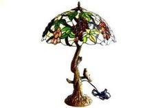 Tiffany Glass Bird Lamp Tiffany Glass, Glass Birds, Design Styles, Table Lamp, Interior Design, Lighting, Fashion Design, Home Decor, Nest Design