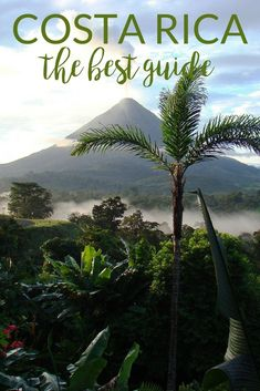 """Where to go in Costa Rica 