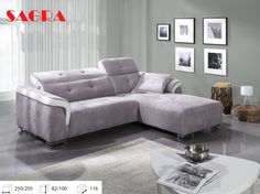 New Recliner Fabric Corner Sofa  ALAVES  PURPLE WHITE GREY BROW BLACK 2 3 seater & New LEATHER Corner Sofa Boston WHITE GREY BROW BLACK FABRIC 2 3 ... islam-shia.org