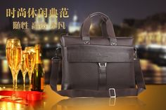 Wholesale Product Snapshot Product name is Rushed Retail high quality men brand briefcase genuine leather Portfolio brown shoulder bag messenger genuine+PU 2015 New BG0093