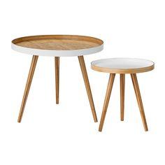 Bamboo sofabord fra Bloomingville. Et moderne og enkelt bord med skandinavisk design. Bordet er prod...