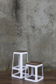 The Jaxson Stacking Stool comes in 4 fun powder coat colors and two heights.