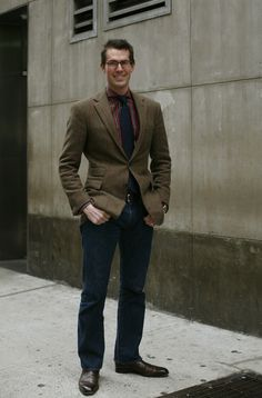 How To Wear Plaid In The City « The Sartorialist