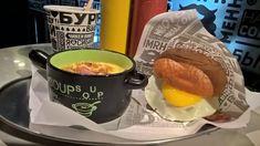 Вкусно 😋! Бизнес-ланч 🍽 от #лучшаябургерная 🍔 в стране- #мясоroob в #нск