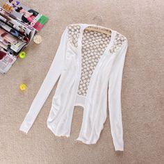 Vestidos de moda » Suéteres blancos juveniles 2