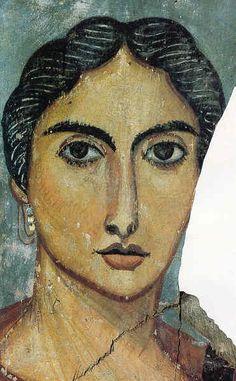 Fayum, Retrato de dama (hacia 170 d.C.)