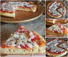 Pizza furba in padella pronta in 15 minuti | Il mondo di Adry