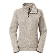 The North Face women's crescent sunset full zip