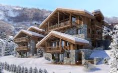 Guide to skiing in Morzine, Portes du Soleil, France; Fabulous hotels, ski hire savings and holidays to the French ski resort. Alpine Chalet, Ski Chalet, French Ski Resorts, Location Chalet, Winter Cabin, Big Houses, New Builds, Exterior Design, My House