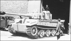 The finished product - a new Tiger - left the assembly line at the Henschel…