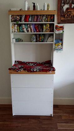 Aisling O'Sullivan My partner built this for me #mynappystash