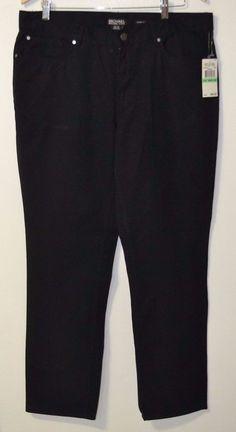 NWT MICHAEL KORS Men's Black Tailored Fit Trouser Pants (34W x 30L) Fashion 1 #MichaelKors #CasualPants