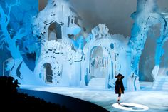 """The closest vetsion of something ive seen for a possible set for """"Frozen"""" when it hits broadway"""