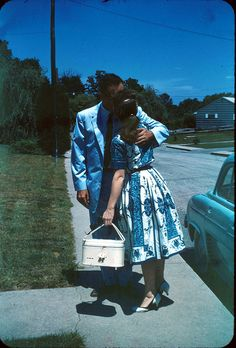 I have a brown version of this dress! 1960