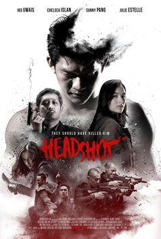 poster for HEADSHOT starring Iko Uwais from THE RAID