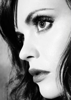 Christina Ricci ... I love these partial face shots